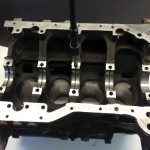 Mitsubishi Evo Block - Clean threaded Holes Tap Holes