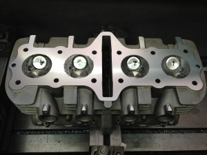 Kawasaki Motorcycle 4 Cylinder Head