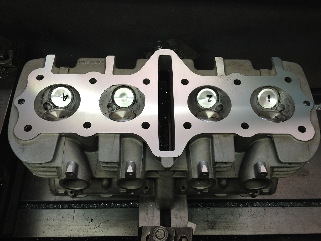 Motorcycle Cylinder Head : Ht howard expert motorbike and motorcycle engine