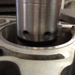 BMW 320Si cylinder liner damage and repair
