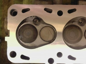 Cylinder head 5 - Coolant passages machined