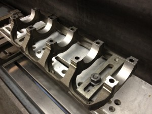 Mitsubishi Evo Block - Crank Main Bearing Ladder Set Up