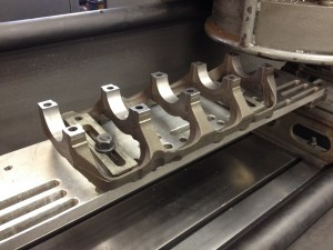 Mitsubishi Evo Block - Main Bearing Ladder Machining using a Berco STC361