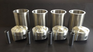 Yamaha Big Bore Piston and Liner Kit