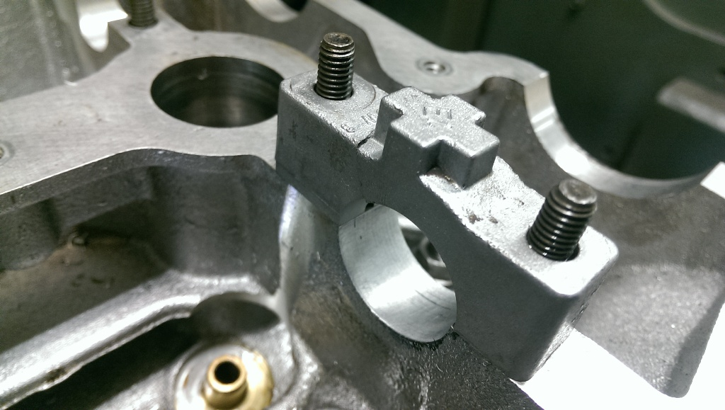 Camshaft caps | HT Howard | motor machining and engine