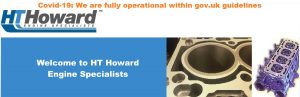 HT Howard - Covid-19: We are fully operational; within gov.uk guidelines